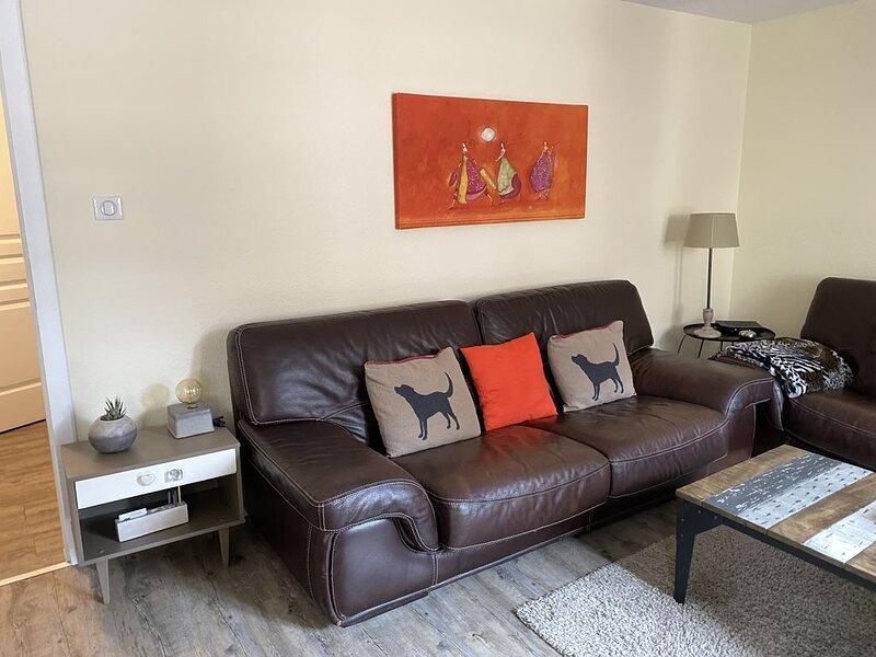 Maison alsacienne individuelle de 135 m² avec garage privé., holiday rental in Ribeauville