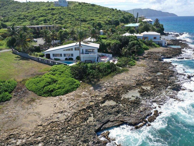 Moonwalk - mid century modern luxury villa on North Shore St. Croix, holiday rental in St. Croix