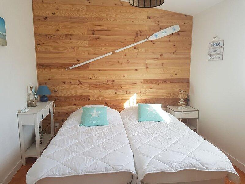 LA FAUTE/MER- Grande maison contemporaine avec vue mer, location de vacances à La Faute sur Mer