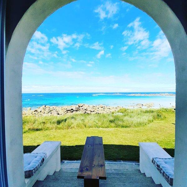 Villa Ker Anna, 4 personnes, front de mer, holiday rental in Cleder