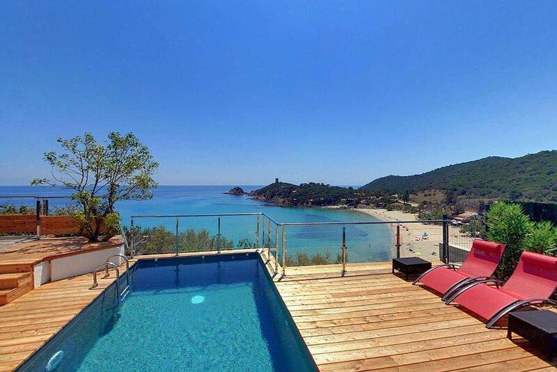 CAPO DI STELLE Villas Fautea - BAIE FAUTEA - Corse du Sud, casa vacanza a Conca