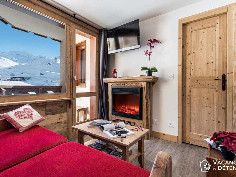 Beau SKIOPIEDS, Plein Sud pour 10 Pers - NAZCA J2, holiday rental in Saint-Martin-de-Belleville