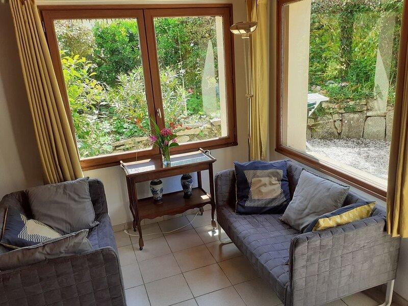 Port Manech Maison Jaune proximité plage Finistère sud Pont-Aven Quimper, holiday rental in Nevez