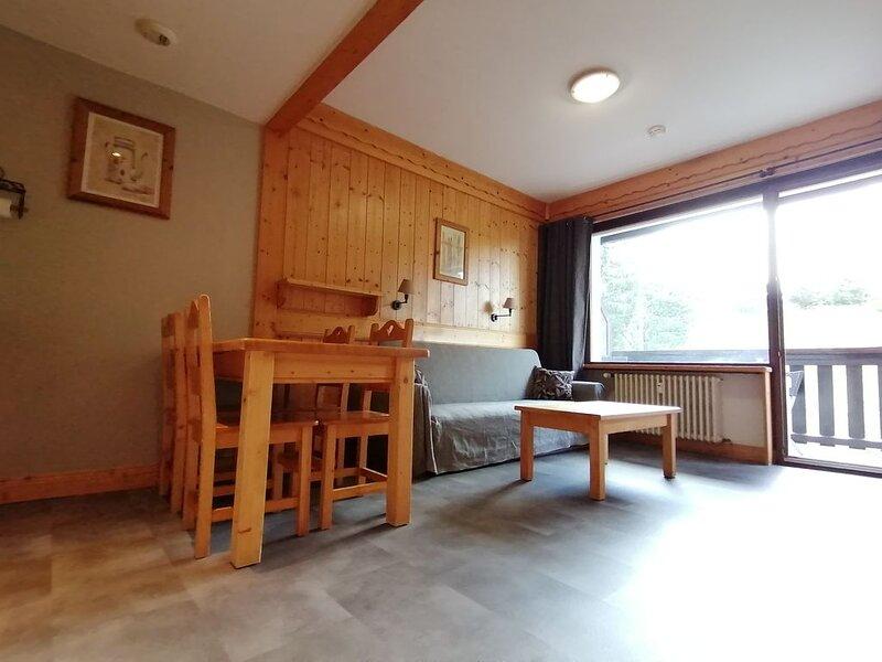 Appartement 34m² à la Montagne dans résidence avec piscine couverte et chauffée, holiday rental in Combloux