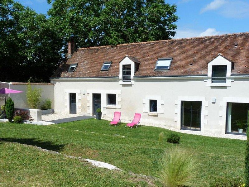 Gîte au calme, proche de Chenonceau, d'Amboise & du Zoo de Beauval, alquiler vacacional en La Croix-en-Touraine