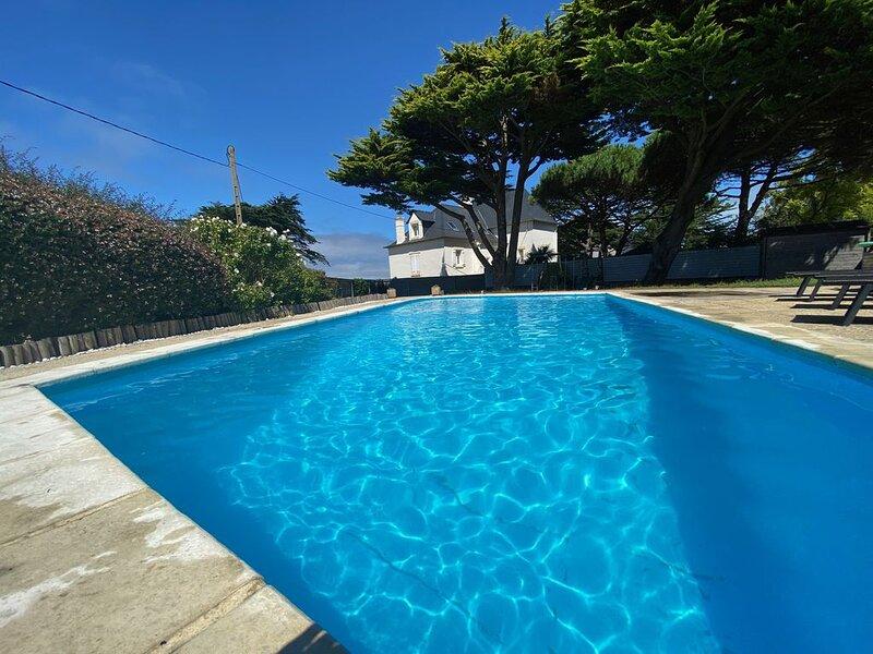 Maison de 150 M2 avec vue mer et piscine privée, holiday rental in Saint-Pierre-Quiberon
