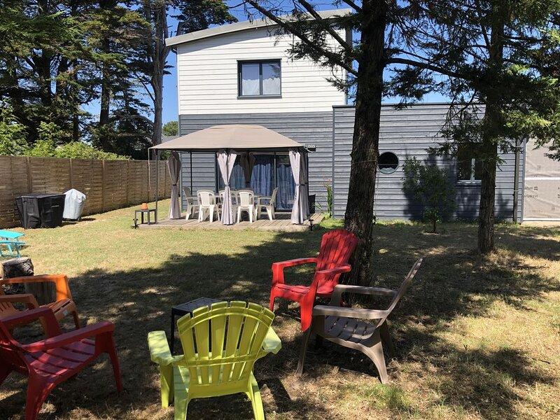 ILE TUDY - Maison contemporaine 8 places avec jardin à 100m de la plage, location de vacances à Île-Tudy