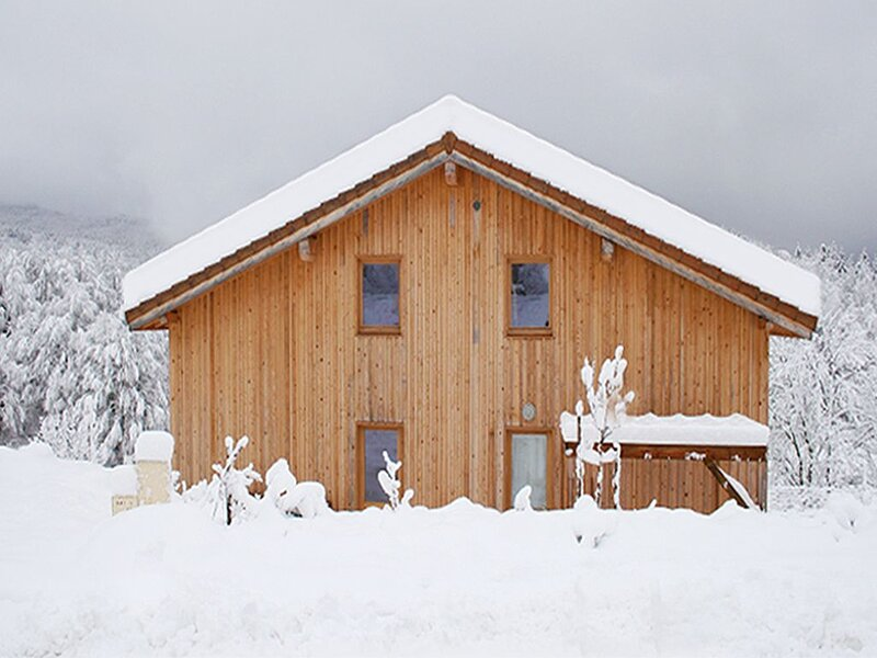 New Ecogite for 5 / 7personnes with traditional sauna in the Vercors, location de vacances à Bouvante