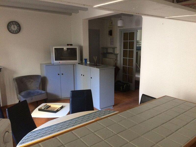 Bel appartement centre-ville – T3 meublé – 4/5 P, holiday rental in Bagneres-de-Luchon