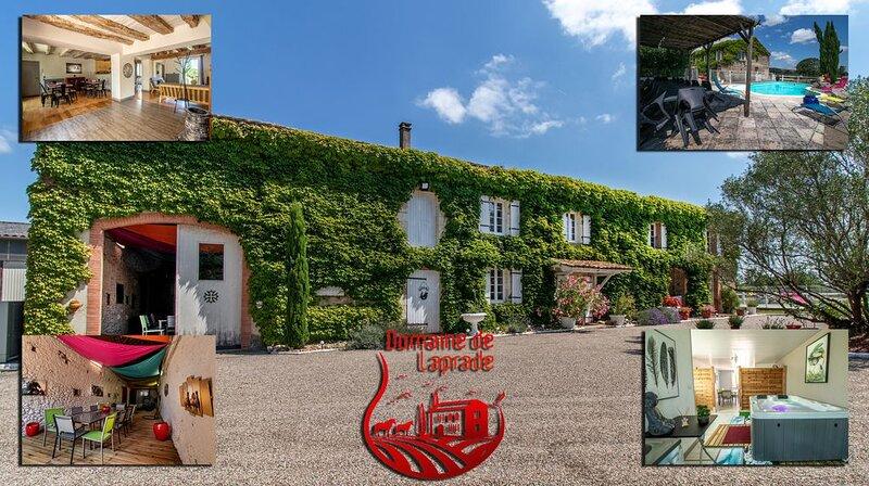 Un domaine de tranquillité , de confort et de simplicité ., holiday rental in Lautrec