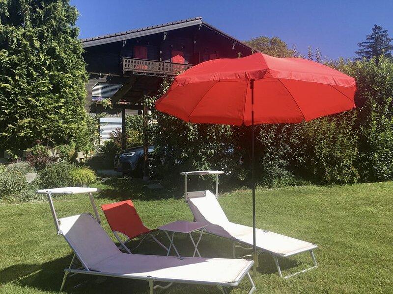 Alpes - Valais - Au  Chalet les roses - Appartement individuel, vacation rental in Grimisuat