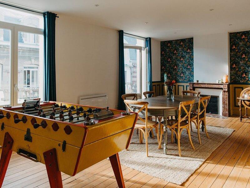 Appartement�115 m2 rénové au cœur de la station�, vacation rental in Berck