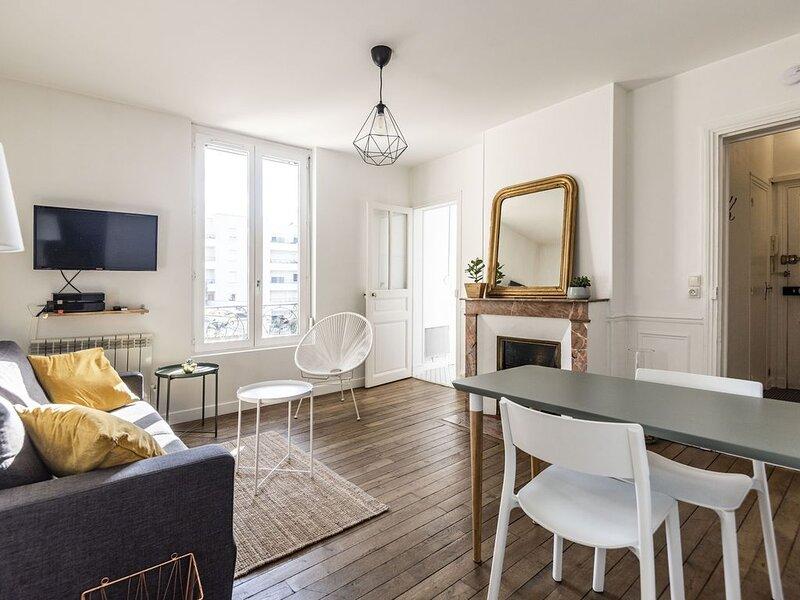 Cosy appartement refait à neuf à moins de 10 min à pieds de la gare !, holiday rental in Jonchery-sur-Vesle