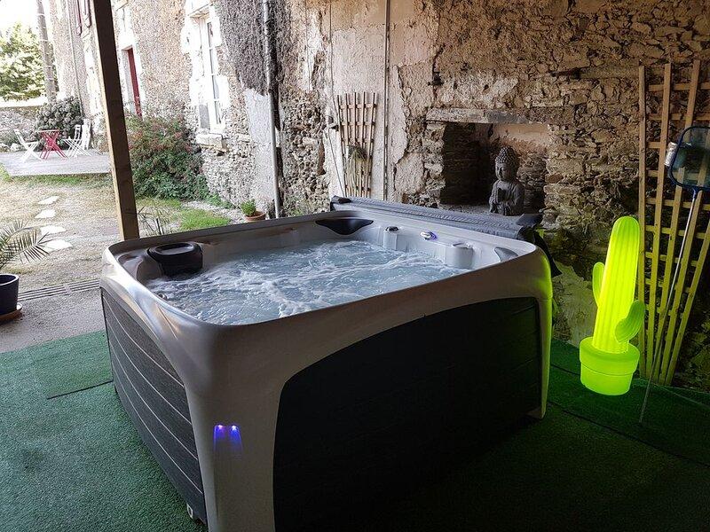 Logis de L'Ogrie avec spa,  situé entre le Puy-du-Fou (35min) et Vouvant, holiday rental in La Caillere-Saint-Hilaire