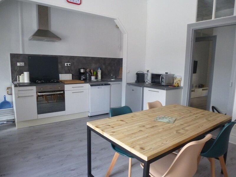 Appartement ' Chez Joann ' à 200 m de la plage, holiday rental in Wimereux