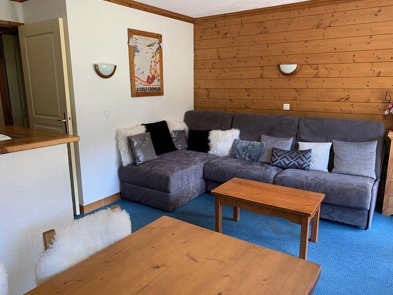 Appartement, vue sur montagne, accès direct aux pistes, 6 personnes, 2 chambres, casa vacanza a Les Avanchers-Valmorel