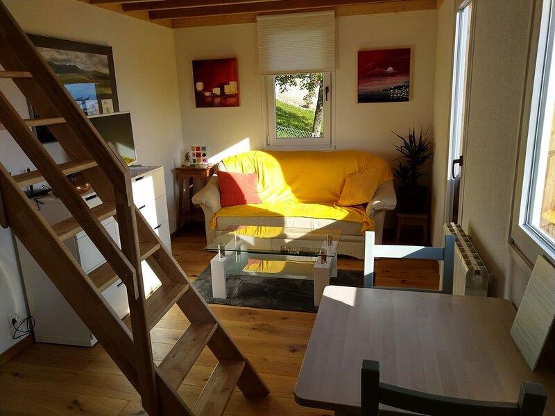 'Les échalas' - Appartement avec cuisine et place privée au cœur du Lavaux, alquiler de vacaciones en Lausana