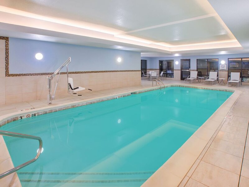 Equipped Studio | Free Daily Breakfast, Indoor Pool + Fitness Center, holiday rental in Stevensville
