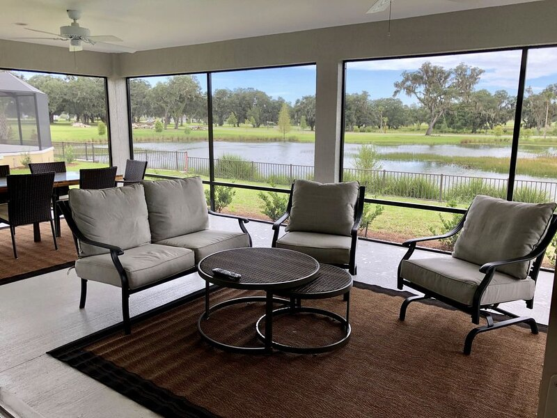 The Villages Florida Tranquility On Thornburg Brand new construction, holiday rental in Webster