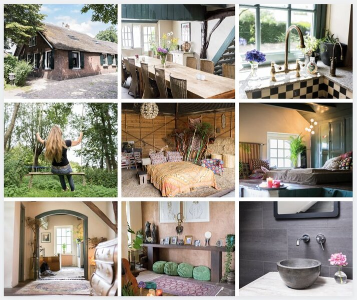 Bohemian Mini Estate, Close to Amsterdam, holiday rental in Noorden