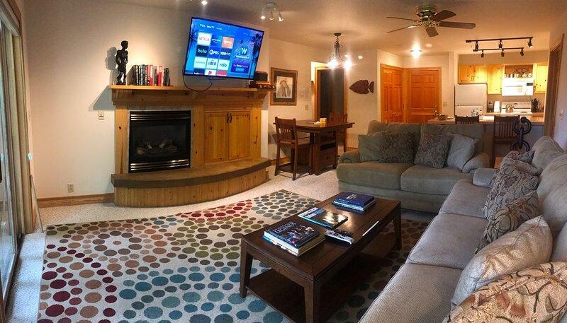 Charming 2 bedroom/2 bath Condo Near Jackson Hole WATCH VIDEO, alquiler vacacional en Alta