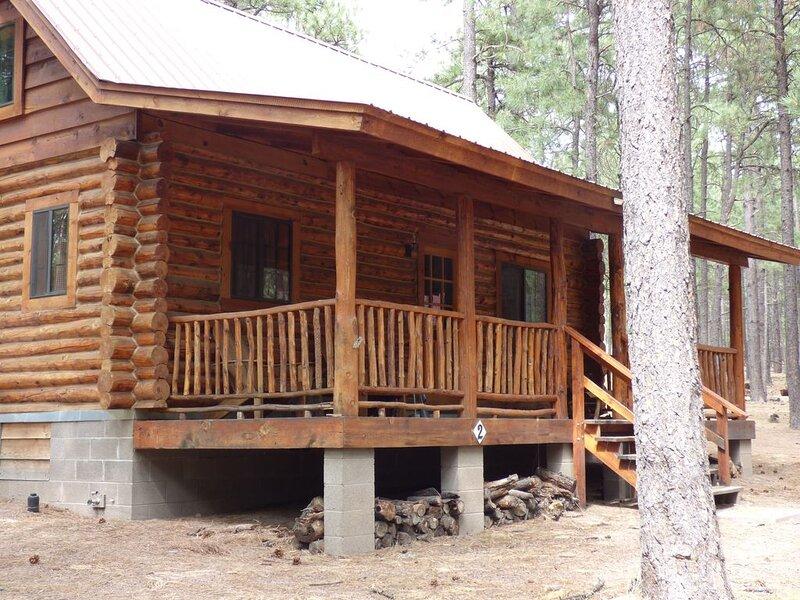 Circle Pine Ranch - 'The Real Log Cabin Experience', alquiler vacacional en Alpine