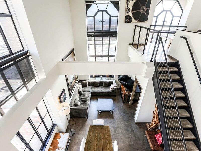 City Views Penthouse – semesterbostad i Dallas