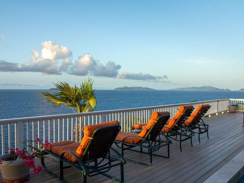 Moonlight Villa  - Luxury Villa with Spectacular Ocean View, Virgin Islands, holiday rental in North Side