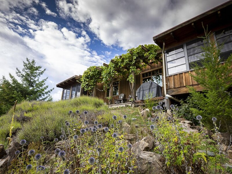 Lavender Cabin ~ 10 min from Larch Hills Xcountry ski trails, alquiler de vacaciones en Salmon Arm