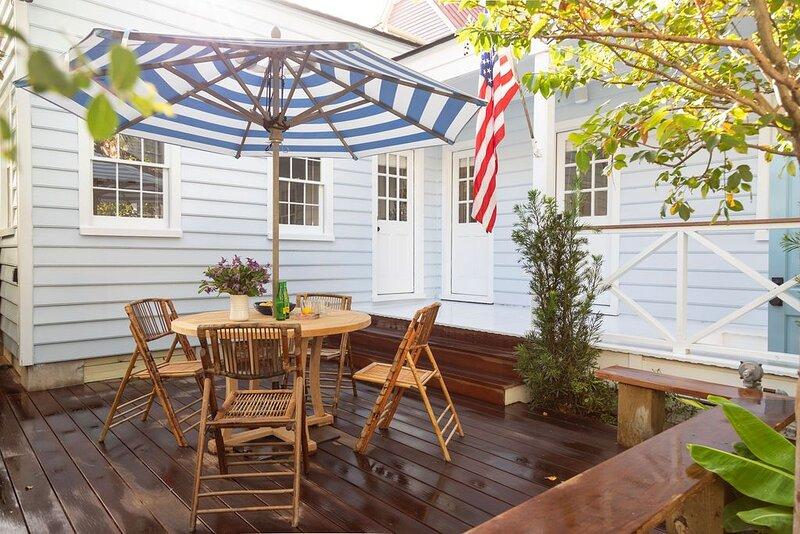 Cottage Row in Beautiful Downtown Charleston, alquiler de vacaciones en Charleston