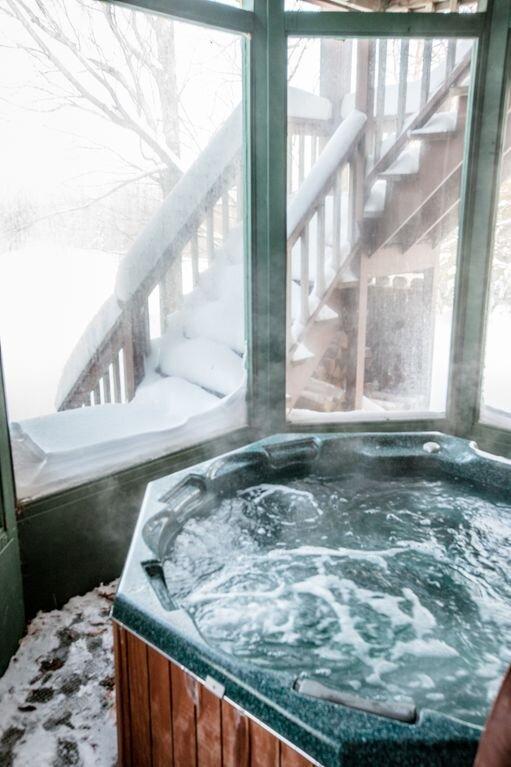 Shared Hot Tub