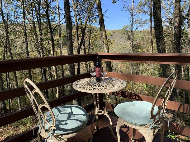 Pecan Valley Cabin - Romantic Getaway in The Woods, holiday rental in Ashland City
