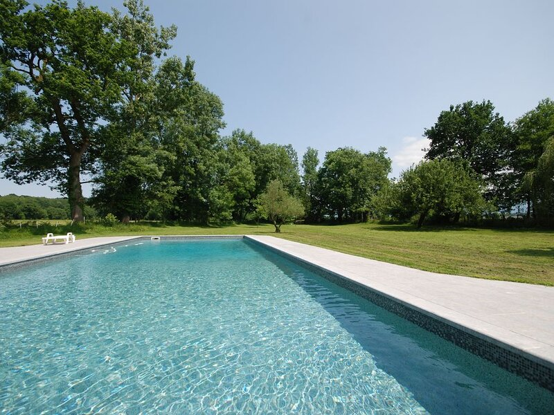 Splendid rural Chateau / Manor house for your big family vacation, casa vacanza a Herrere
