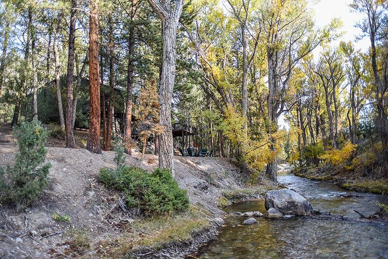 THE PONDEROSA ON CHALK CREEK  * Authentic Mtn Home * Game Room *, casa vacanza a Nathrop
