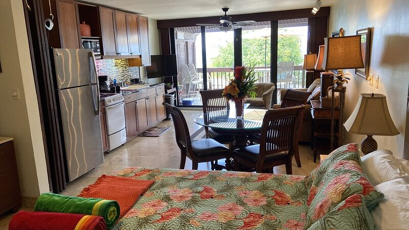 Jude's Caribbean Getaway - Beachfront, private pool, free beach chairs, Marina, holiday rental in Red Hook