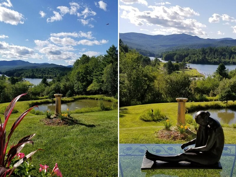Private 2 bdrm Apt 7 Acres Ski Canoe Golf Swim HIke Fish Relax.  'The View', location de vacances à Waterbury