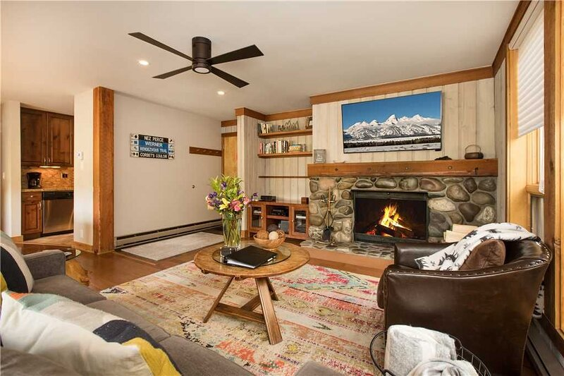 RMR: Beautifully Renovated 2 BR in Teton Village, alquiler de vacaciones en Teton Village