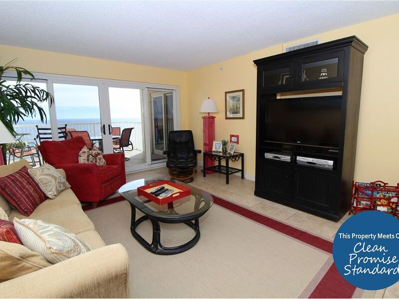 Sandy Key 816 - Beach Front Views from Terrace with Luxurious Interior! – semesterbostad i Pensacola