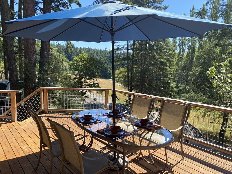 Luxuriously re-modeled cottage minutes from the Ferry, location de vacances à Deer Harbor