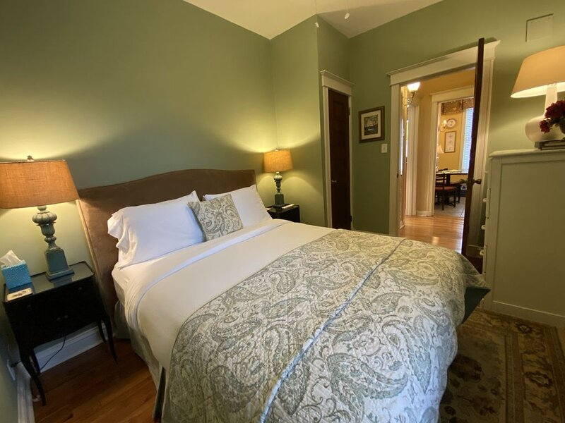 Enjoy an excellent night's sleep on the Adler Suite's top-quality Queen-sized bed.