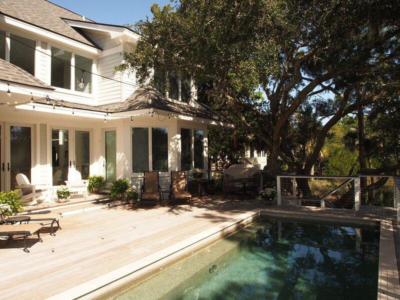 Spacious Luxury Home, Vanderhorst Plantation, Saltwater Heated Pool, Marsh Views, alquiler de vacaciones en Kiawah Island