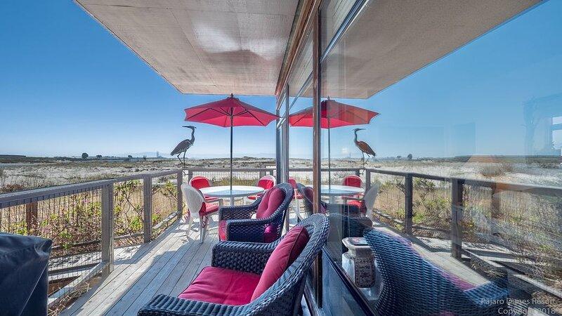 Pajaro Dunes Resort: Pelican Point Beach Condo - Beach, Ocean & River Views, casa vacanza a Watsonville