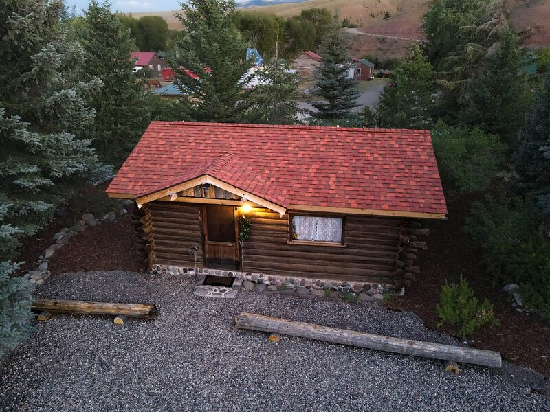 Cozy & Comfortable Historic Cabin, holiday rental in Dubois