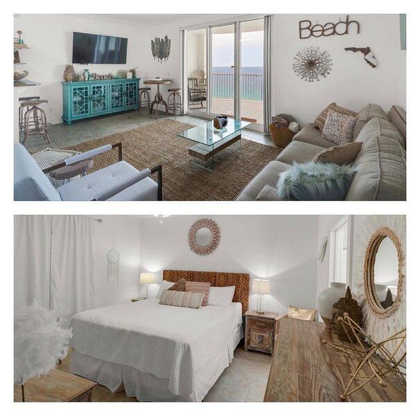 GORGEOUS, MODERN 1 Bedroom, 2 bunks/2 Baths, 25 to RENT!, holiday rental in Panama City Beach