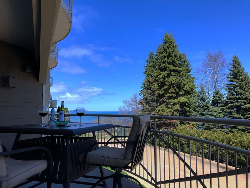 Your Traverse Beach Retreat, in a spacious Condo with upscale furnishings, location de vacances à Traverse City
