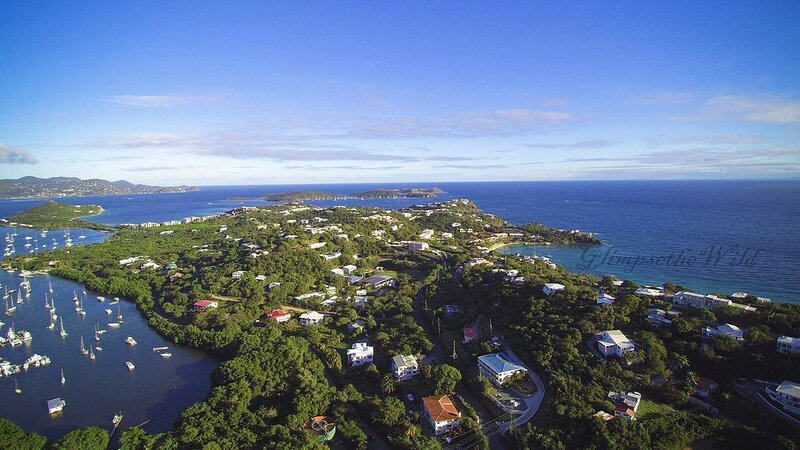 This gorgeous aerial shot of the East End of St. Thomas was taken by Malik Hunt.