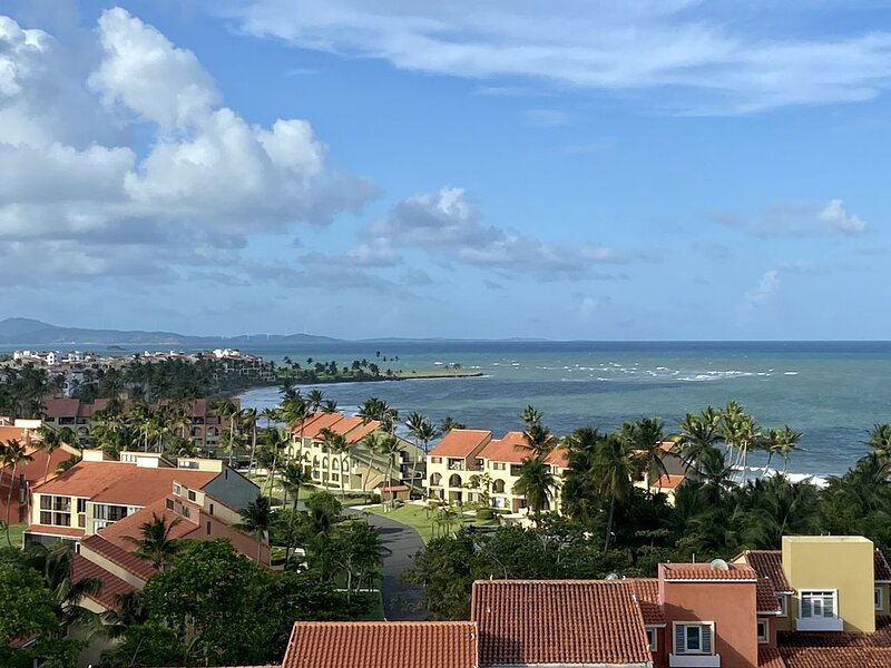 Enchanted Ocean View Penthouse with Wraparound Terrace and Best Golfing, vacation rental in Yabucoa