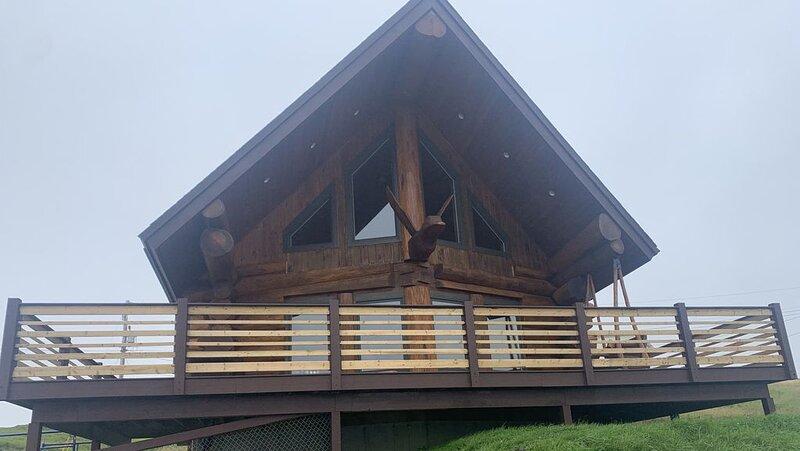 'The Duck' Cedar Log Home Rental - Sleeps 12!!, holiday rental in Trepassey