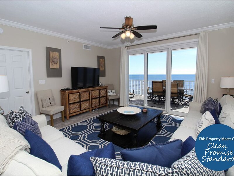 Stunning Windemere Corner Unit! Unobstructed Westerly Views!, holiday rental in Perdido Key
