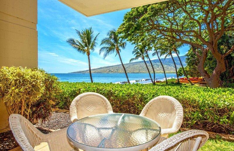 KR105- South Maui Condo Garden-Level - Lanai with Ocean & Mountain Views, holiday rental in Spreckelsville